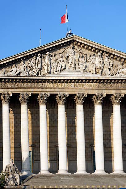 Assemblée nationale française à Paris - Photo
