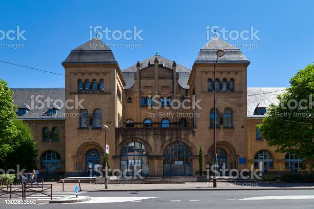 French Office For Immigration And Integration In Metz Stock Photo - Download Image Now