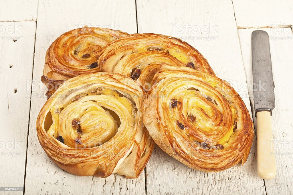 French or Danish Pastries stock photo