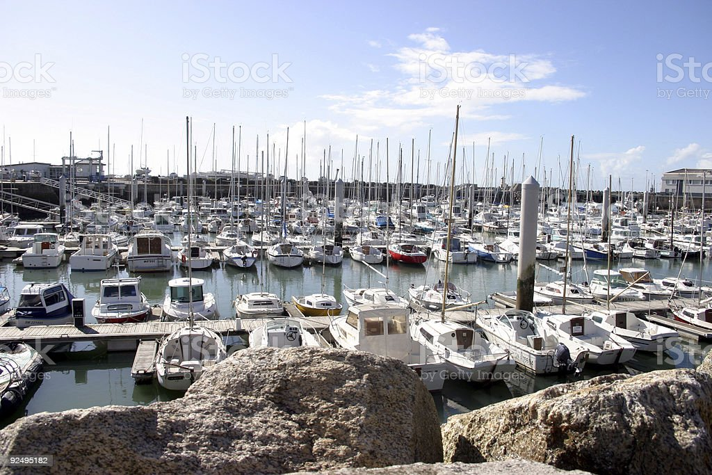 French port royalty-free stock photo