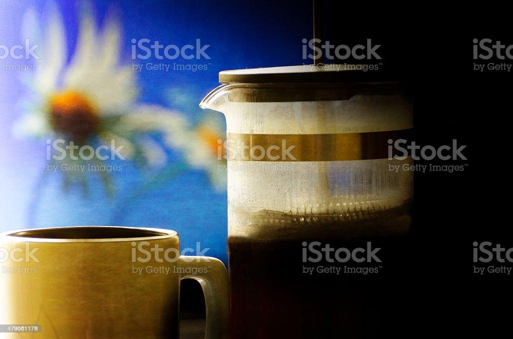 French PressCoffee - Drink stock photo