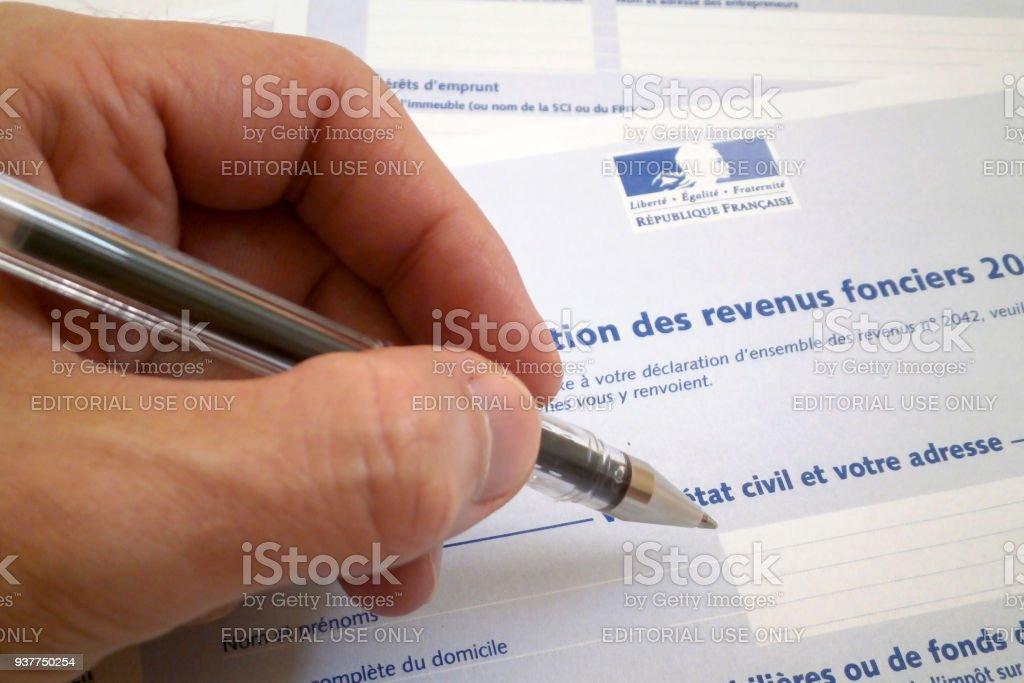 Taxe de propriété française - Photo