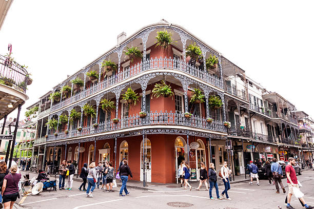 French Quarter in New Orleans, Louisiana – Foto