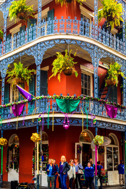 French Quarter in New Orleans, stock photo