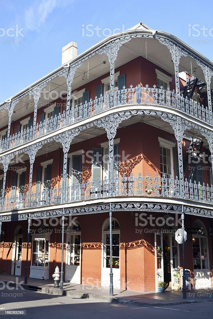 French Quarter in New Orleans royalty-free stock photo