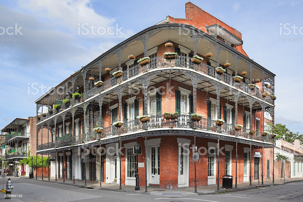 French Quarter - New Orleans stock photo