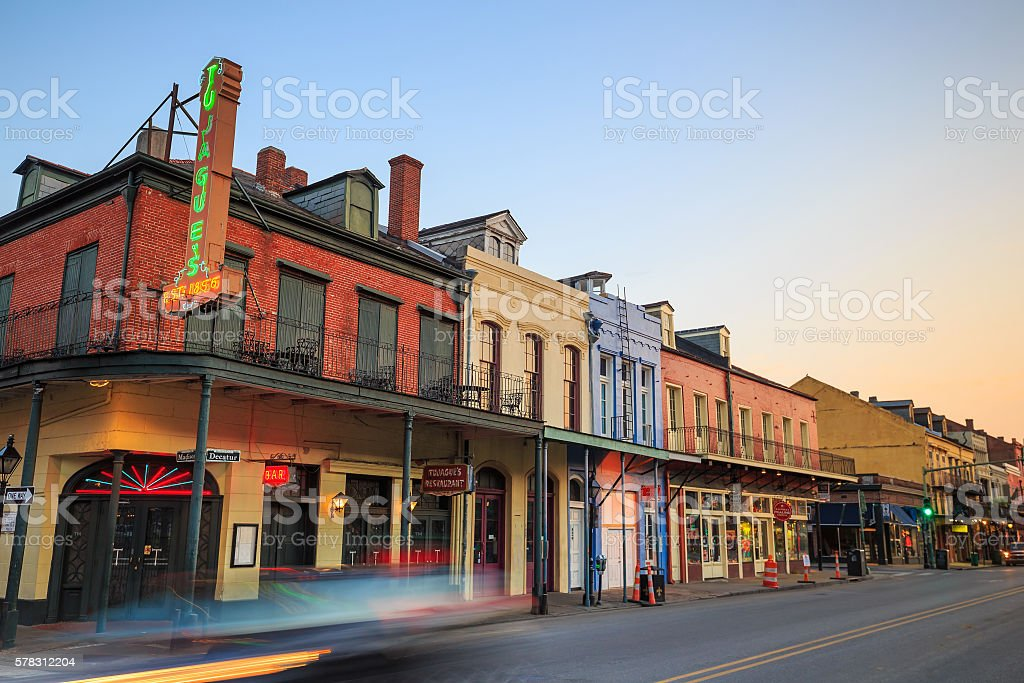 French Quarter, New Orleans stock photo