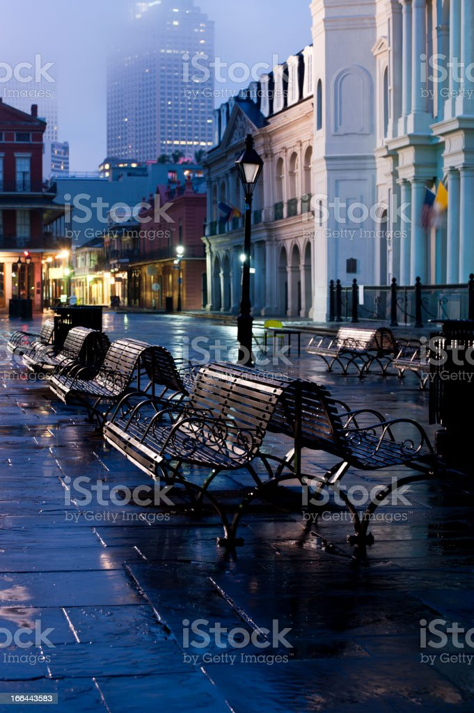 French Quarter stock photo