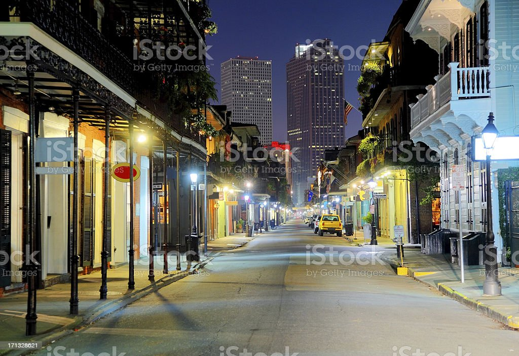 French Quarter royalty-free stock photo