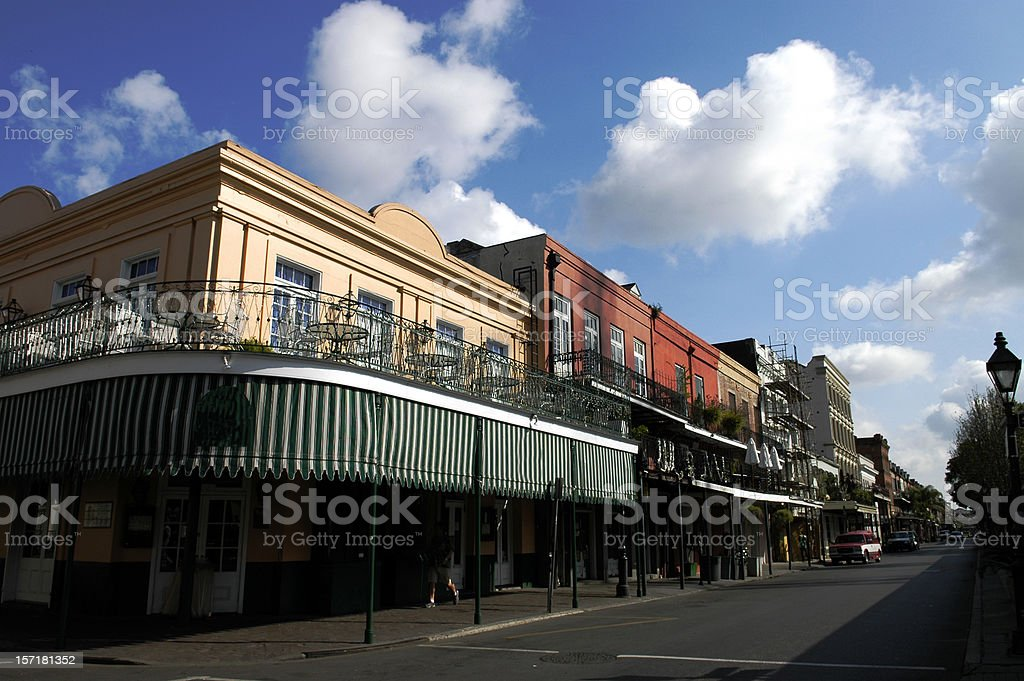 French Quarter Square royalty-free stock photo