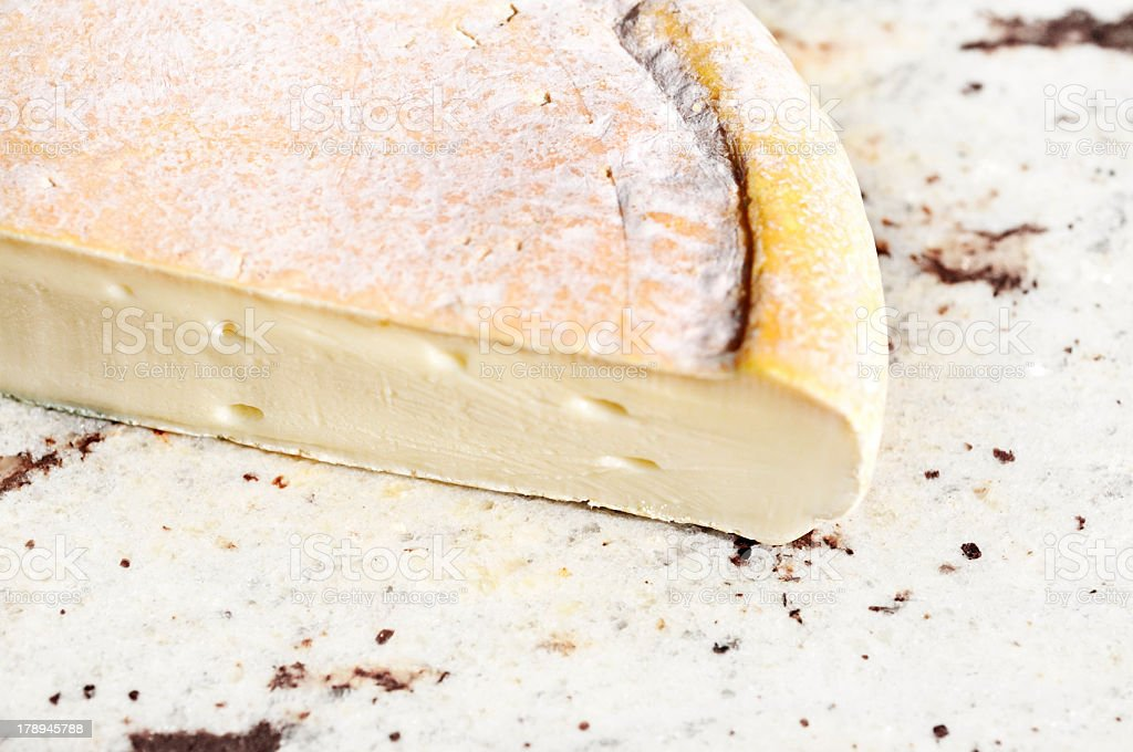 French Reblochon cheese from the Alps stock photo