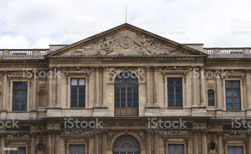 French Renaissance Detail royalty-free stock photo