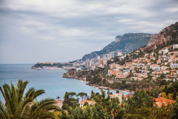 Cote d'azur in Nice Overview of the Cote d'azur in Nice,southern France. côte d'ivoire stock pictures, royalty-free photos & images