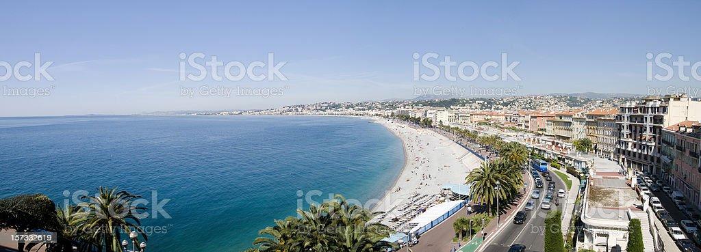 French Riviera Panorama (XXL) royalty-free stock photo