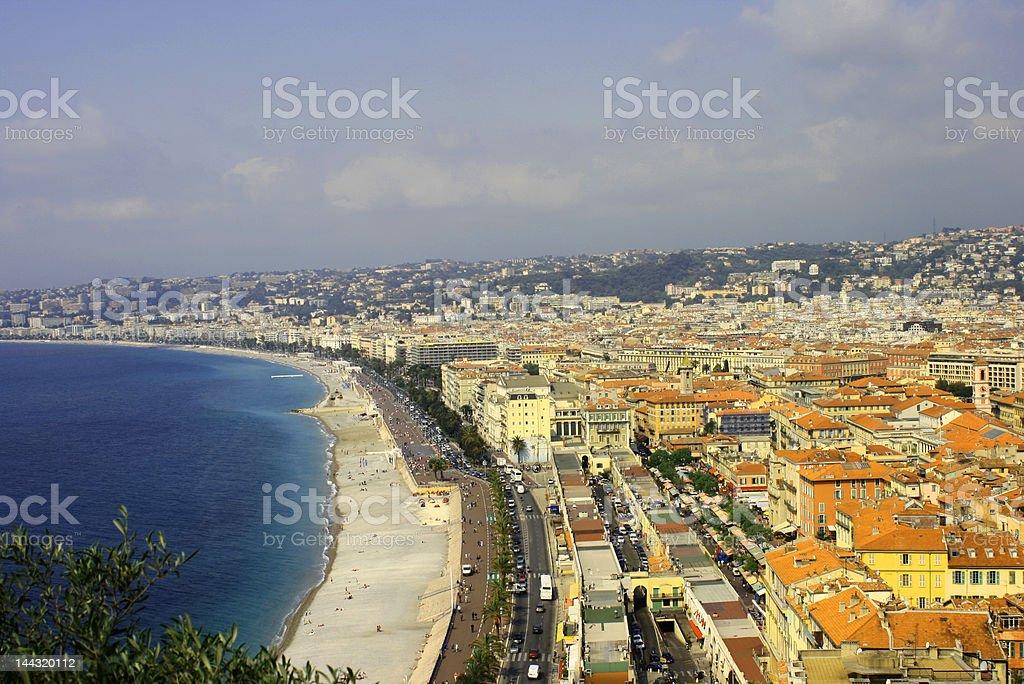 French Riviera royalty-free stock photo