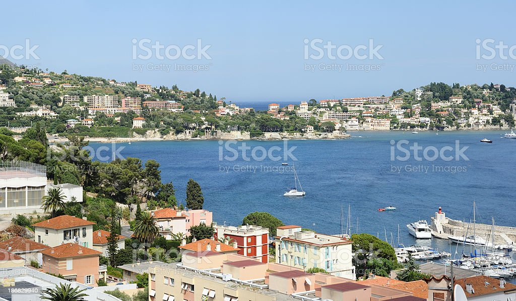 French Riviera royalty-free stock photo