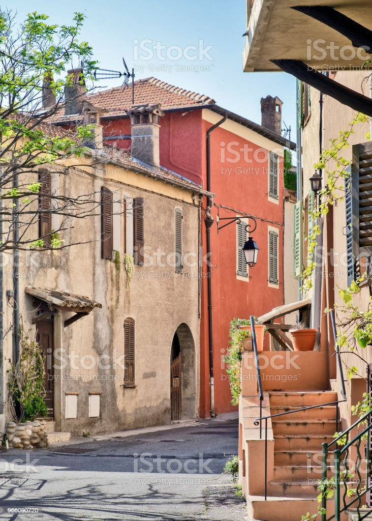 Côte d'Azur - Royalty-free Architectuur Stockfoto