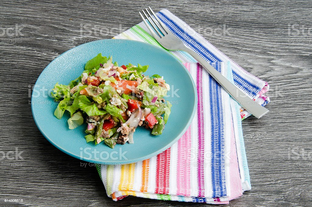 French salad stock photo