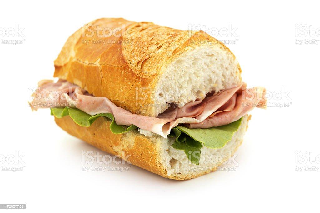 french sandwich stock photo