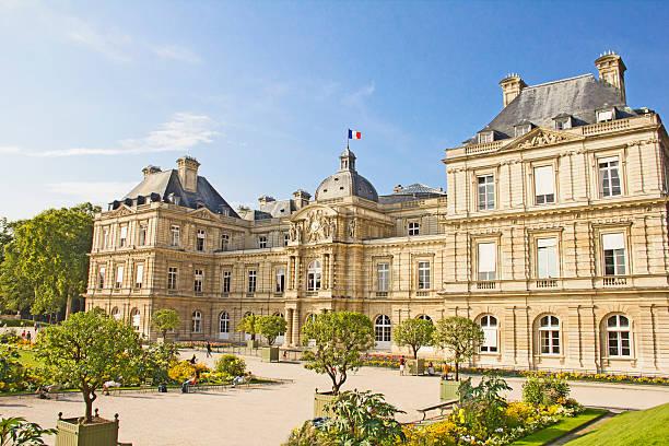 Französische Senat und dem Jardin du Luxembourg, Paris – Foto