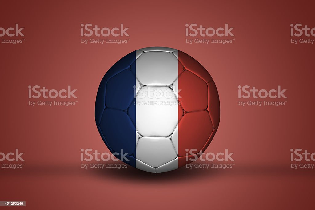 French soccer ball royalty-free stock photo
