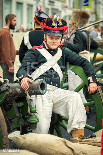 istock French soldier in uniform. 602303366