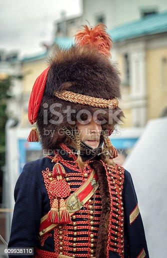 istock French soldier Napoleon era 609938110