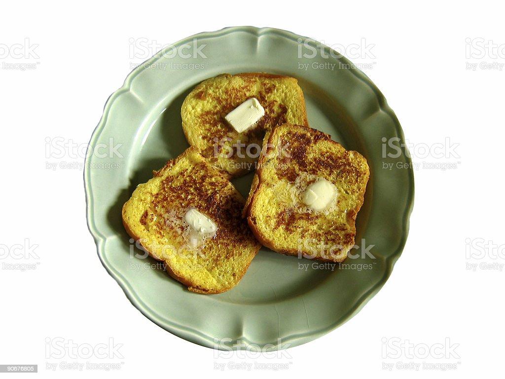 French Toast royalty-free stock photo
