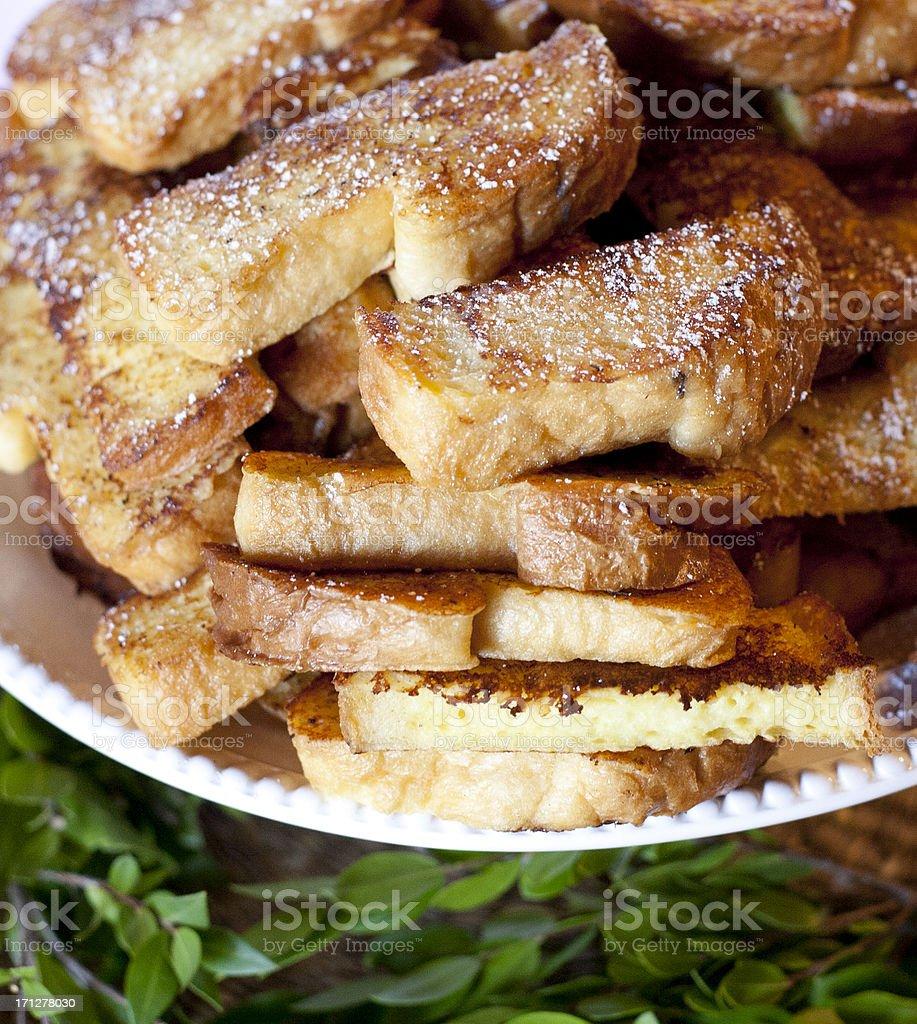 French Toast Sticks royalty-free stock photo