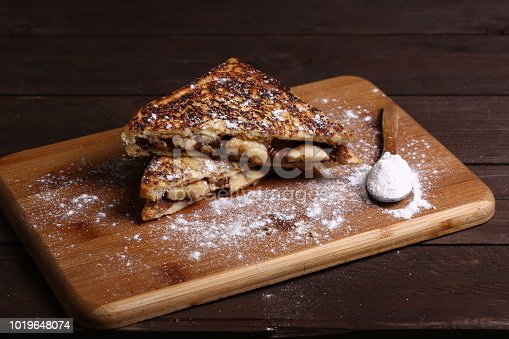 French Toast with Chocolate Creamed Nutella