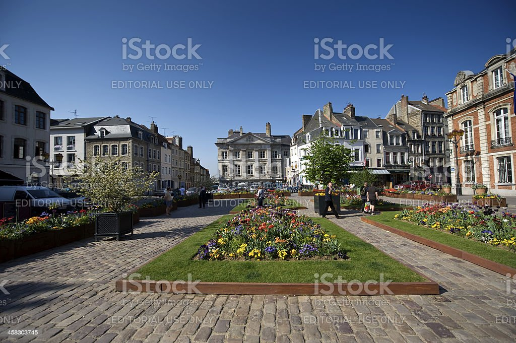 French town square - Photo