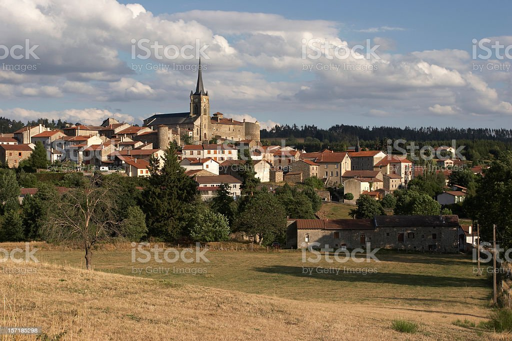French village royalty-free stock photo