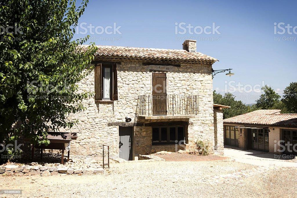 French Vineyard royalty-free stock photo