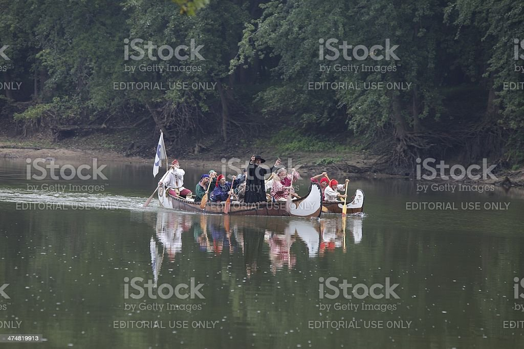 French Voyagers stock photo