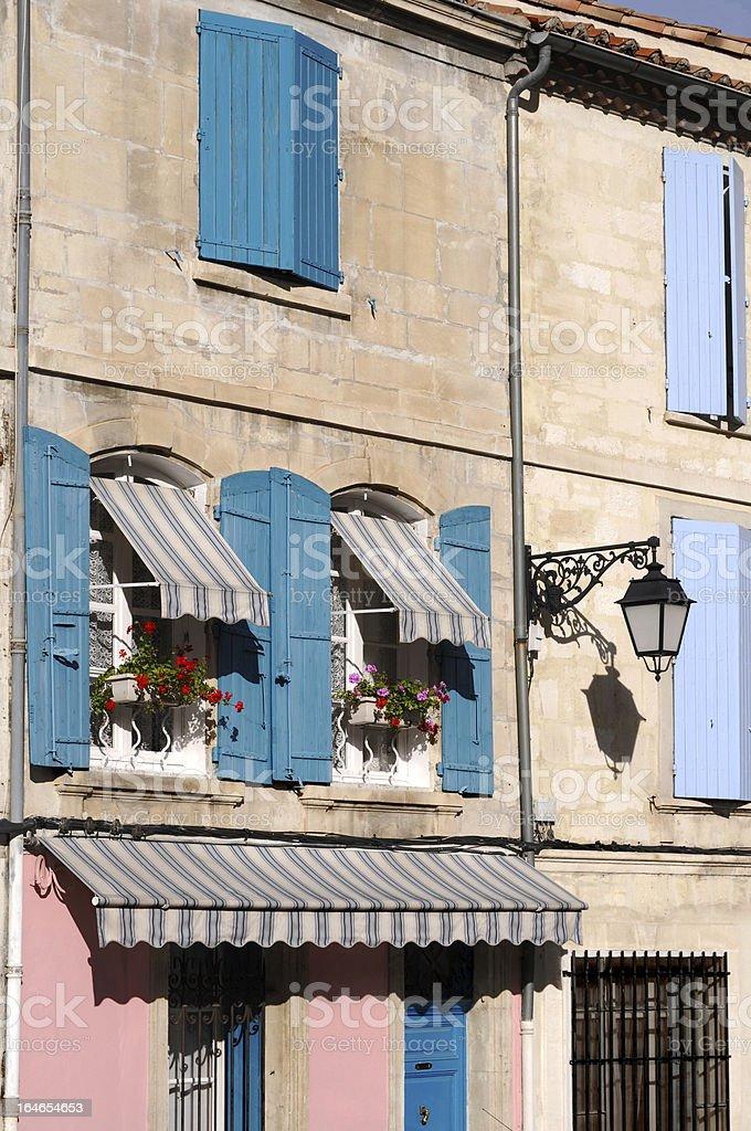 Franzosische Fenster Im Suden Von Frankreich Stock Fotografie Und