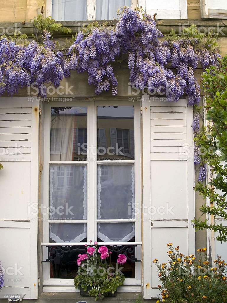 French Window royalty-free stock photo