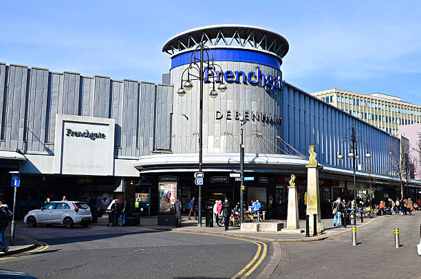 frenchgate shopping cantre - doncaster foto e immagini stock
