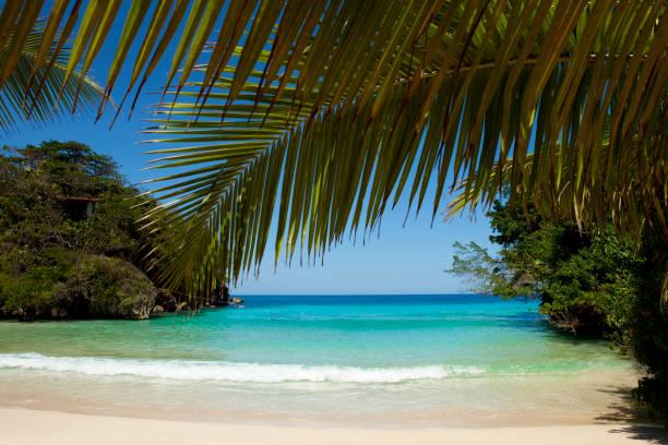 Frenchman's Cove, Port Antonio, Jamaica - foto stock