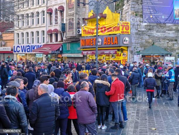 Frenzied lottery ticket buying at nimet abla lottery kiosk istanbul picture id1086062424?b=1&k=6&m=1086062424&s=612x612&h=iqc3cbirpcvexxwmgkds3qw2d0tjtkb9ghu1vieysk4=