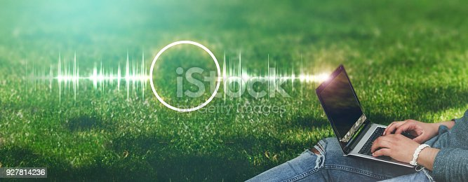 927814202 istock photo Frequency concept 927814236