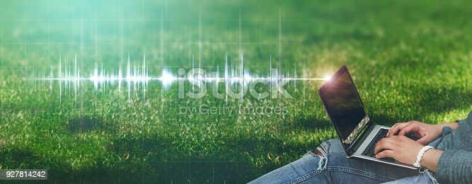 927814202 istock photo Frequency concept 927814242