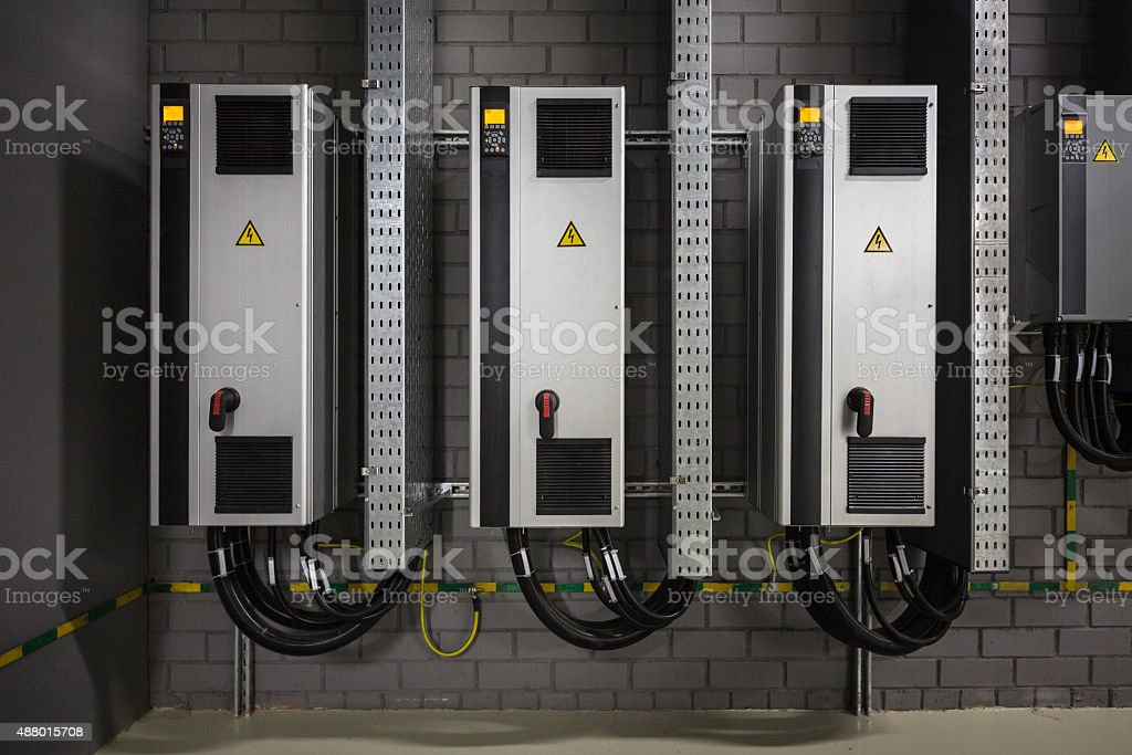 frequency converters stock photo