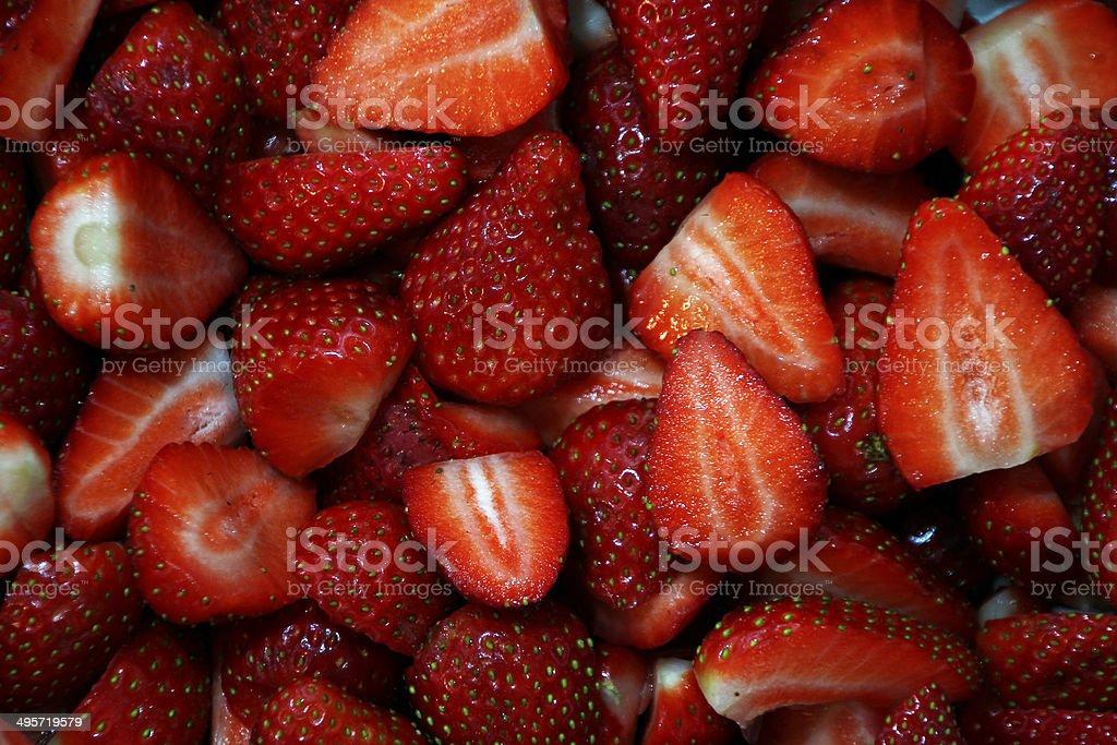 Fresas - foto de stock