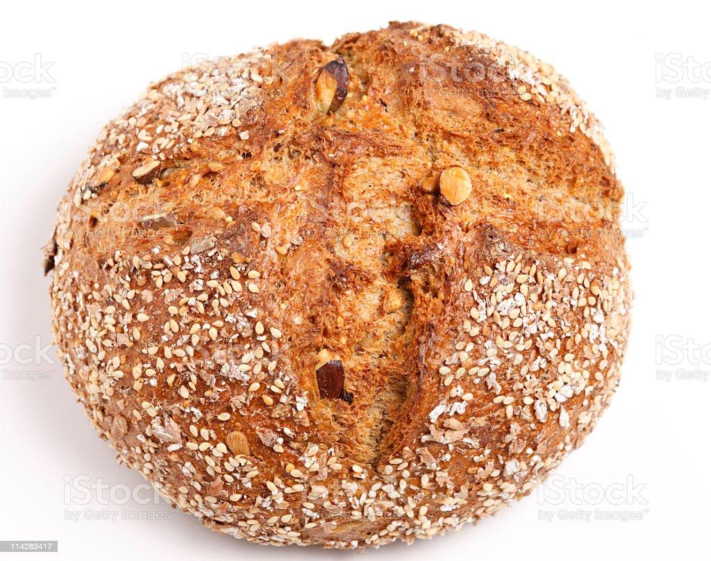 Fresh 7-grain bread (XXL) stock photo
