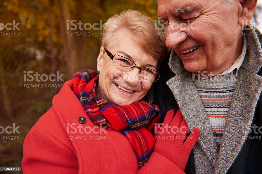 Fresh air is needed during the autumn stock photo