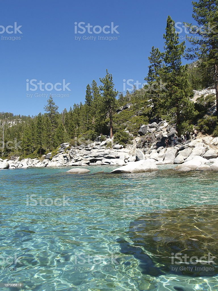 Fresh Alpine Water - High Demand Resource royalty-free stock photo