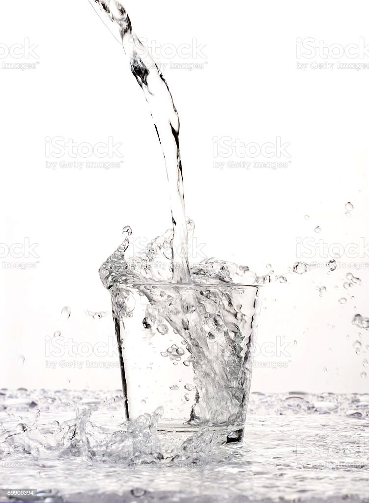 Fresh and cold water royalty-free stock photo