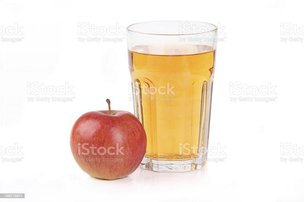 Frischen Apfelsaft – Foto