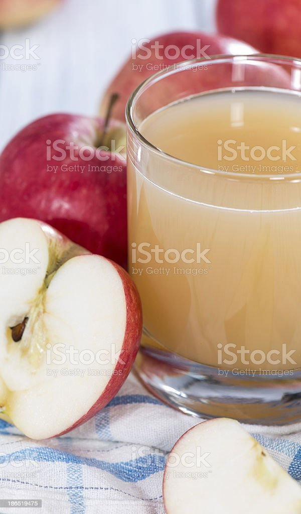Fresh Apple Juice royalty-free stock photo