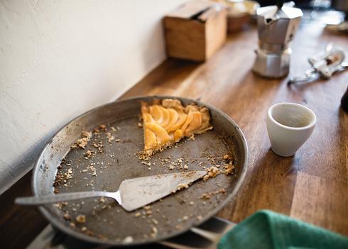 Fresh apple pie – the last pieces